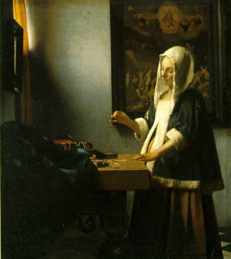 vermeer.weighing-pearls